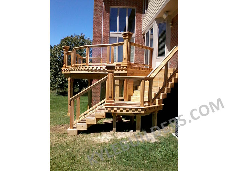 Kyle Builders Custom Cedar Deck Builder In Michigan