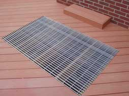 grate over deck (for ac unit)