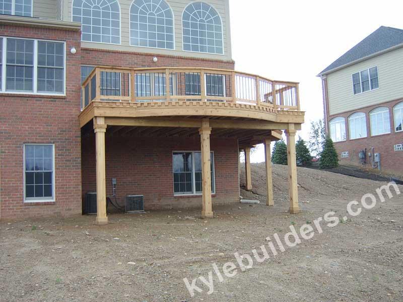 Kyle Builders Custom Cedar Deck Builder In Michigan