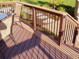 decking detail done in color