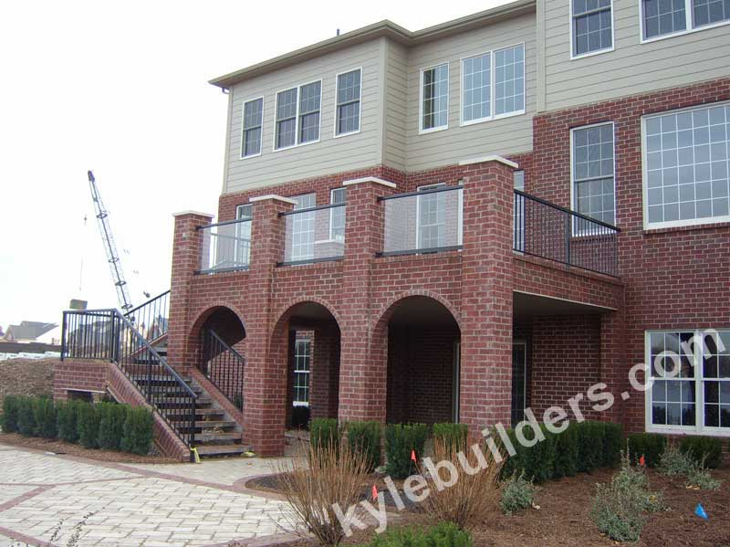 Kyle Builders Arches For Cement Porches In Lower Michigan